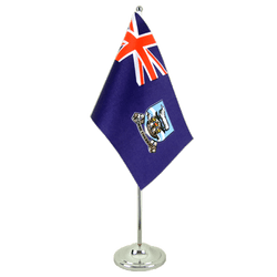Falkland Islands - Satin Table Flag 6x9""