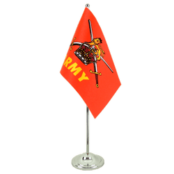 British Army - Satin Table Flag 6x9""