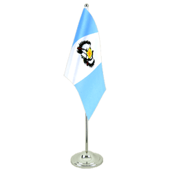 Guatemala - Satin Table Flag 6x9""