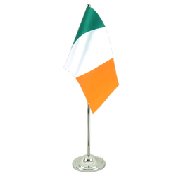 Ireland Satin Table Flag 6x9""