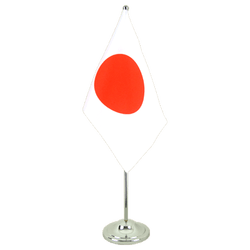 Drapeau de table prestige Japon 15 x 22 cm