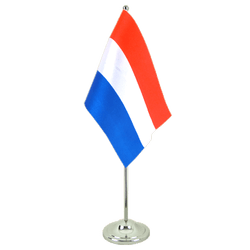 Luxembourg Satin Table Flag 6x9""