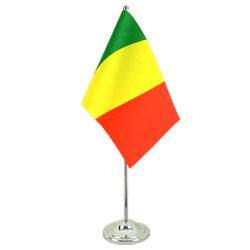 Drapeau de table prestige Mali 15 x 22 cm