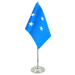 Micronesia Satin Table Flag 6x9""