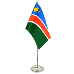 Namibia Satin Table Flag 6x9""