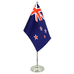 New Zealand Satin Table Flag 6x9""