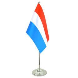 Netherlands Satin Table Flag 6x9""