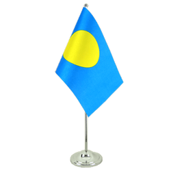 Palau Satin Table Flag 6x9""