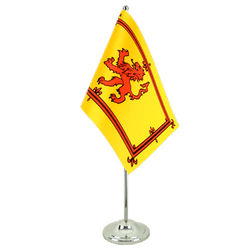 Scotland Royal Satin Table Flag 6x9""