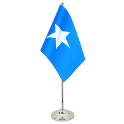 Somalia Satin Table Flag 6x9""