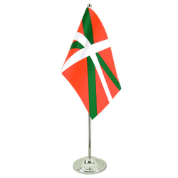 Basque country  Satin Table Flag 6x9""