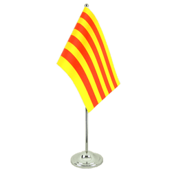 Catalonia Satin Table Flag 6x9""