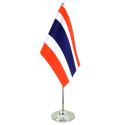Thailand Satin Table Flag 6x9""