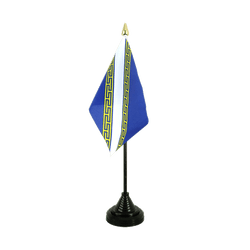 Mini drapeau de table Champagne Ardenne 10 x 15 cm
