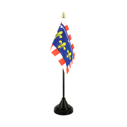 Mini drapeau de table Centre - 10 x 15 cm