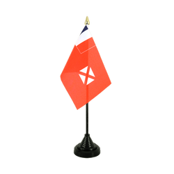 Wallis and Futuna Table Flag 4x6""