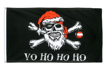 Pirate Christmas 3x5 ft Flag