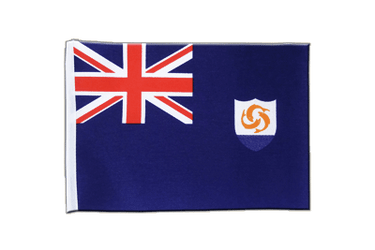 Anguilla - Satin Flag 6x9""
