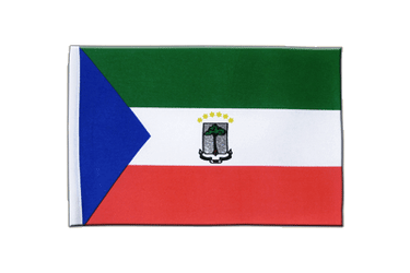 Equatorial Guinea Satin Flag 6x9""