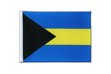 Bahamas Satin Flag 6x9""