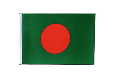 Bangladesh Satin Flag 6x9""