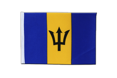 Barbados Satin Flag 6x9""