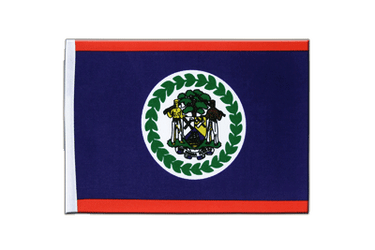 Belize Satin Flag 6x9""