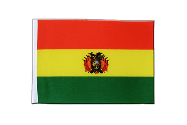 Bolivia Satin Flag 6x9""
