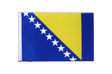 Bosnia-Herzegovina Satin Flag 6x9""