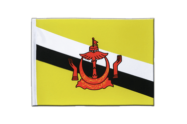 Brunei Satin Flag 6x9""
