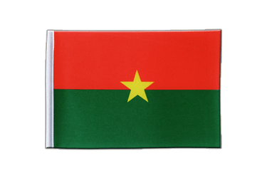 Burkina Faso Satin Flag 6x9""