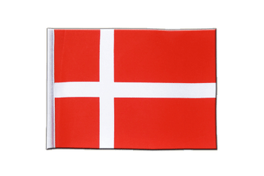 Denmark Satin Flag 6x9""