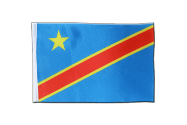 Democratic Republic of the Congo Satin Flag 6x9""