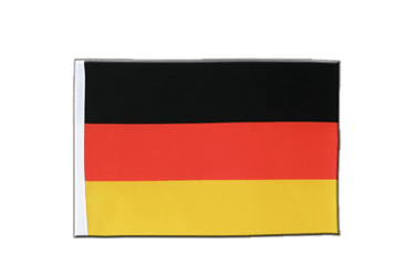 Germany Satin Flag 6x9""