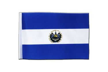 El Salvador Satin Flag 6x9""