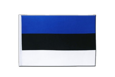 Estonia Satin Flag 6x9""