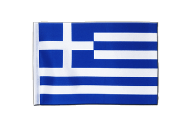 Greece Satin Flag 6x9""