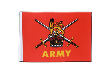 British Army Satin Flagge 15 x 22 cm