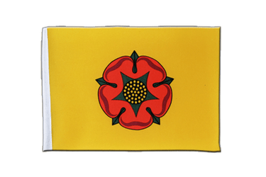 Lancashire new - Satin Flag 6x9""
