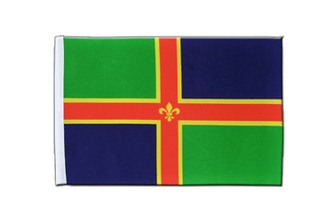 Lincolnshire - Satin Flag 6x9""