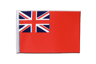 Drapeau en satin Red Ensign 15 x 22 cm
