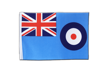 Drapeau en satin Royal Airforce RAF 15 x 22 cm