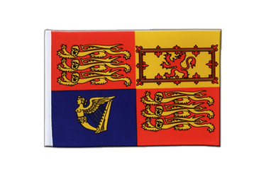Great Britain Royal Satin Flag 6x9""
