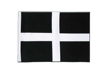 St. Piran Cornwall Satin Flag 6x9""