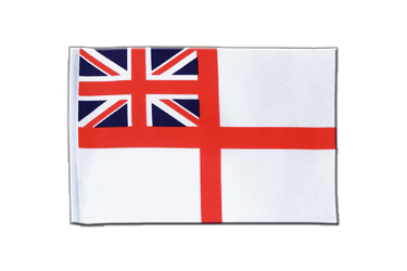 Naval Ensign of the White Squadron Satin Flag 6x9""