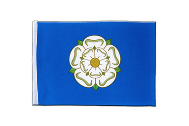 Yorkshire new Satin Flag 6x9""