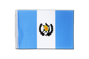 Guatemala Satin Flag 6x9""