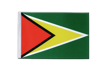 Guyana Satin Flag 6x9""
