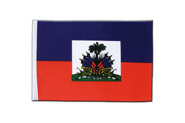 Haiti Satin Flag 6x9""