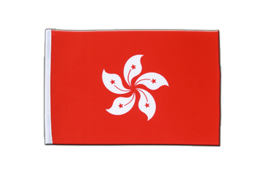 Hong Kong - Satin Flag 6x9""